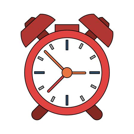 alarmclock: analog alarm clock icon image vector illustration design