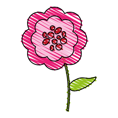 Single pink flower icon image vector illustration scrawl royalty single pink flower icon image vector illustration scrawl stock vector 82699844 mightylinksfo