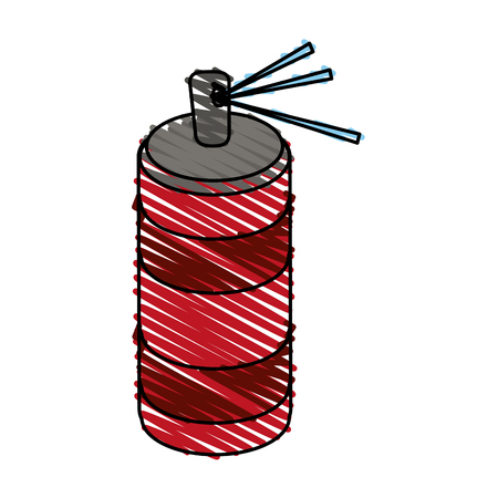 aerosol spray icon vector illustration graphic design