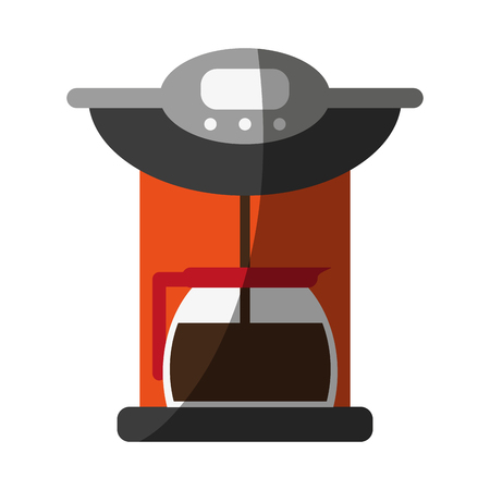 coffee maker icon vector illustration graphic design