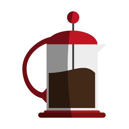 coffee maker icon vector illustration graphic design