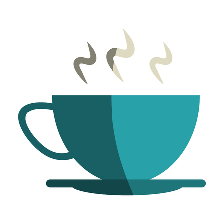 hot coffee cup icon vector illustration graphic design