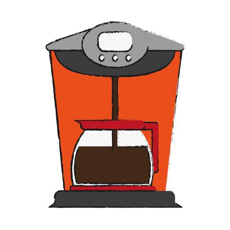 appliances: coffe maker icon vector illustration graphic design Illustration