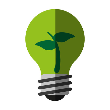 green ecology and enviroment icon vector illustration graphic design