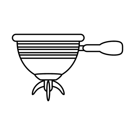 coffe maker icon vector illustration graphic design Illustration