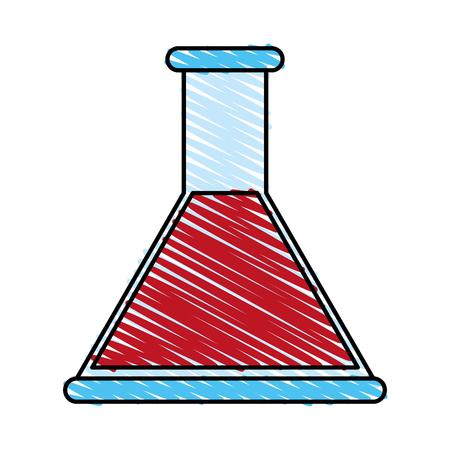 Potion clinical medicine doodle  vector illustration design graphic Illustration