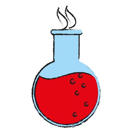 Potion clinical medicine draw  vector illustration design graphic
