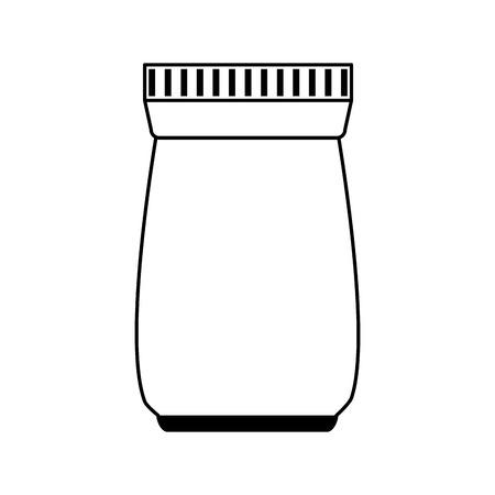 Potion clinical medicine paint  vector illustration design graphic