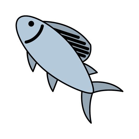 fish food icon image vector illustration design Illustration