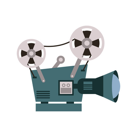film projector icon image vector illustration design