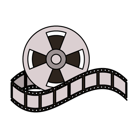 tape reel icon image vector illustration design
