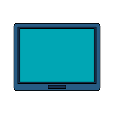 tablet gadget icon image vector illustration design Illustration