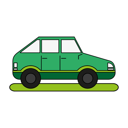 means of transportation icon vector illustration graphic design Ilustrace