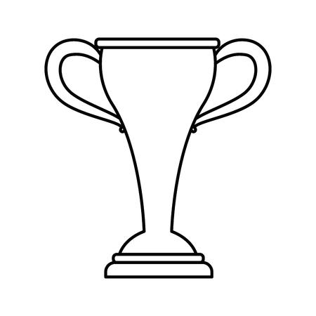 sport trophy championship winner symbol vector illustration Stok Fotoğraf - 83170505