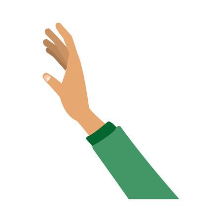 persone mano gesto prendere concetto illustrazione vettoriale