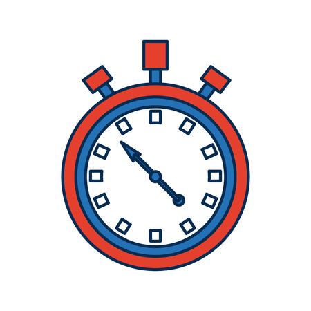cronometro: stopwatch chronometer timer countdown time sport vector illustration