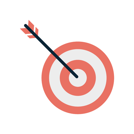 bullseye or dartboard icon image vector illustration design
