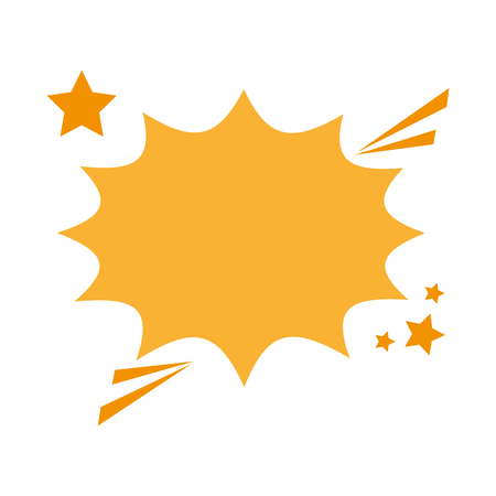 blank onomatopoeia bubble icon image vector illustration design