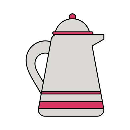 kettle or teapot icon image vector illustration design Illustration