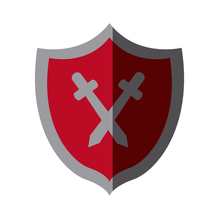 casing: protection shield concept safety privacy security vector illustration