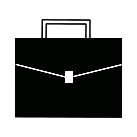 business briefcase for travelling modern design style vector illustration