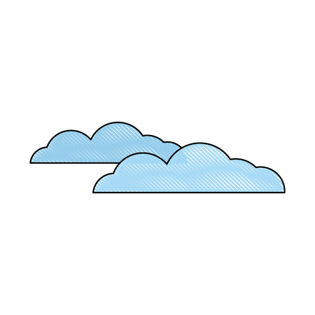 cloud weather sky climate image vector illustration