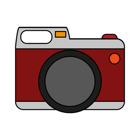 shutter: photographic camera icon image vector illustration design