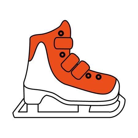 ice skate icon image vector illustration design
