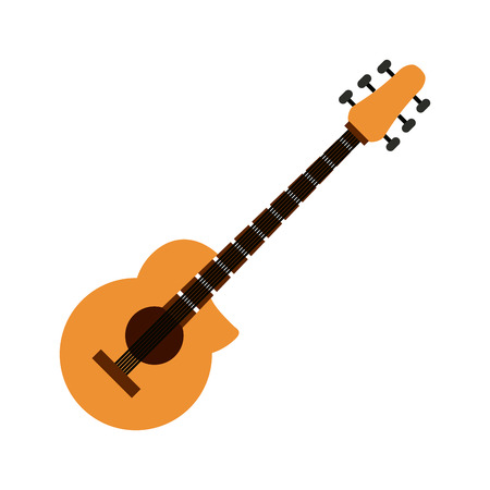 bass guitar musical instrument icon image vector illustration design