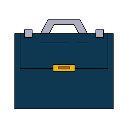 case: Business briefcase icon.