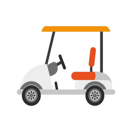 golf cart icon image vector illustration design Illustration