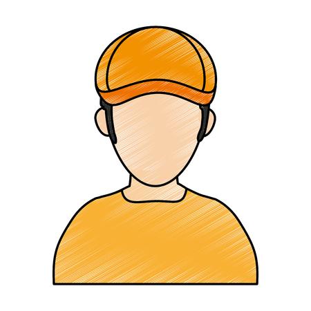 Golf player avatar icon image