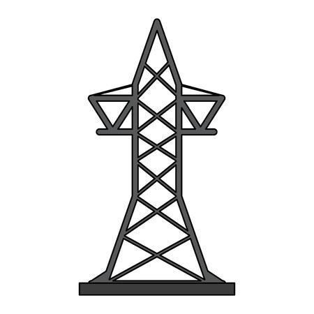 transmission tower icon image vector illustration design