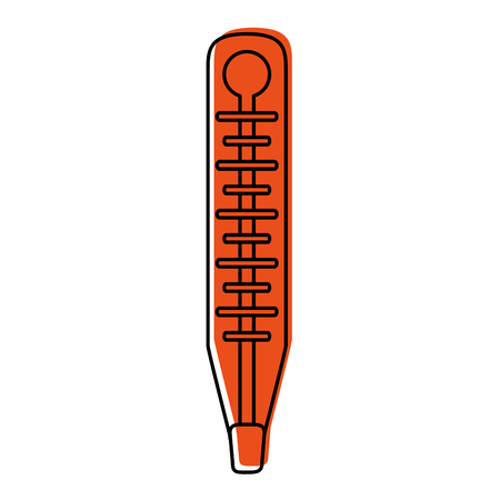 analog thermometer healthcare icon image vector illustration design