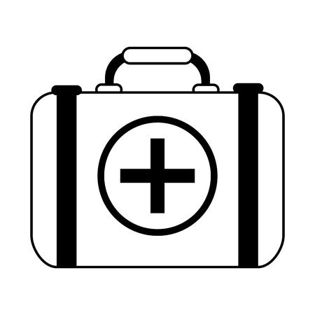 lifeline: first aid kit healthcare icon image vector illustration design