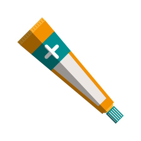 ointment healthcare related icon image vector illustration design Illustration
