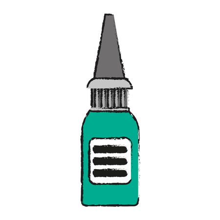 lifeline: nasal irrigator healthcare related icon image vector illustration design