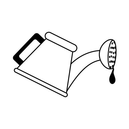 un arrosoir icône image vectorielle illustration