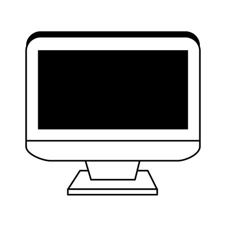 film industry: Computer monitor icon image illustration design.