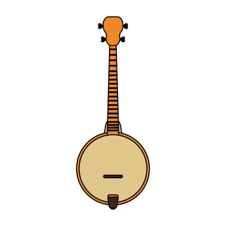 Acoustic guitar banjo icon