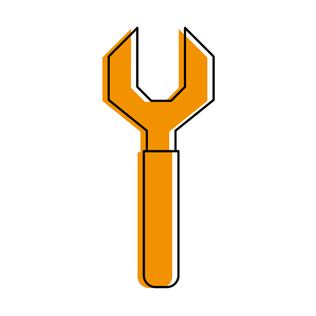 Wrench tool icon image