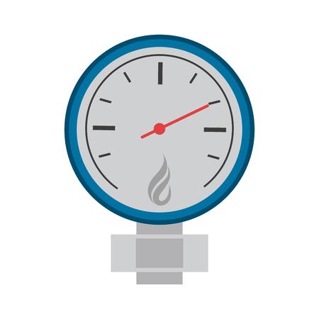 measuring gauge icon image vector illustration design Illustration