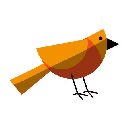 drift: geometric shape bird icon image vector illustration design