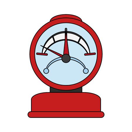 pressure gauge icon image vector illustration design