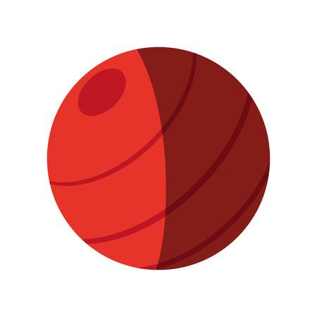 フィットネス ボール アイコン画像ベクトル イラスト デザイン  イラスト・ベクター素材