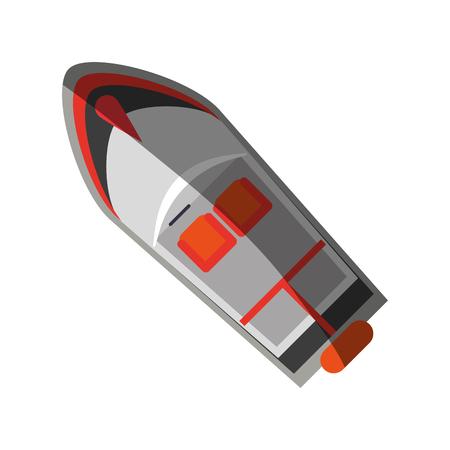 motor boat icon image vector illustration design Illustration