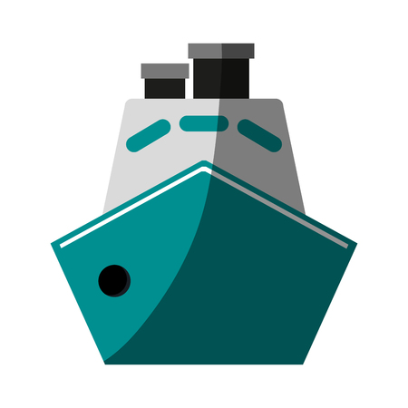 cruise ship icon image vector illustration design Illustration