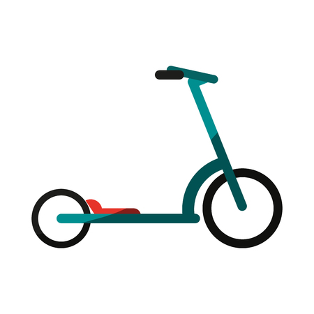 normal scooter icon image vector illustration design Illustration