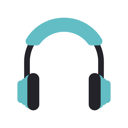 earphone: isolated headphones icon image vector illustration design
