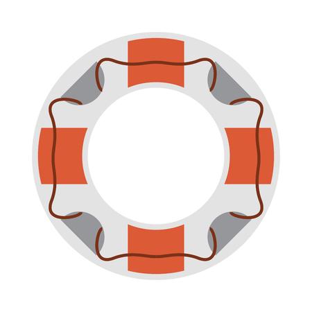 life preserver icon image vector illustration design Illustration